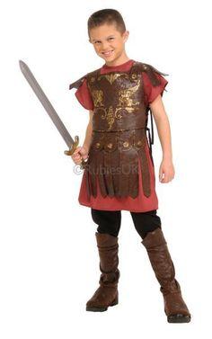 Gladiator Warrior Soldier #Child Roman /& Greek Fancy Dress Costume 4 To 14 Years