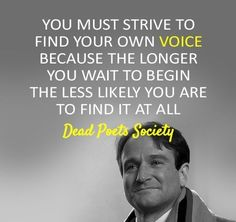 Dead Poet's Society - Online #Movie #Quote by alana