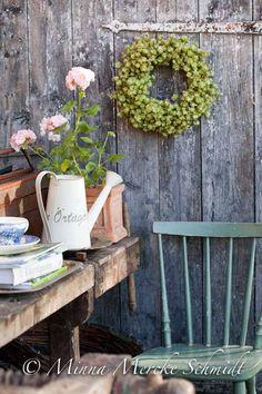 Krans av humle | blomsterverkstad | Sköna Hem