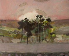 Stand of Trees by scottish artist Sandy Murphy