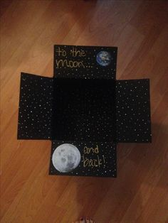 To The Moon And Back Carepackage Diy Kid Gifts Valentines Day For Him