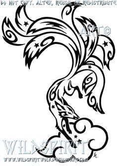 Starry Nine Tailed Fox Tattoo by *WildSpiritWolf on deviantART