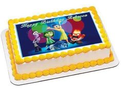 Inside Out Anger 1 Edible Birthday Cake OR Cupcake Topper – Edible Prints On Cake (EPoC)