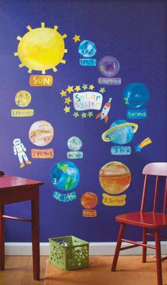 space themed classroom | space theme wall stickers - Bing Images