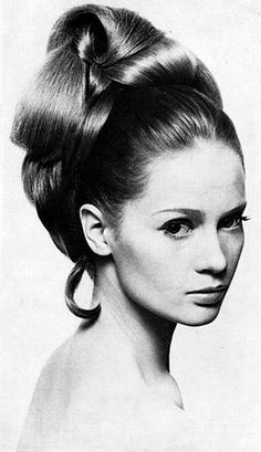 Bouffant Hair, 1966.