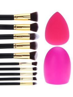 GET $50 NOW | Join Zaful: Get YOUR $50 NOW!http://m.zaful.com/makeup-brushes-set-brush-egg-beauty-blender-p_242002.html?seid=1730322zf242002