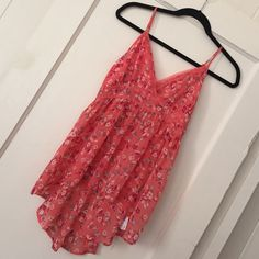 sale 3 for 10 Sale  Forever 21 Cute top See thru 100% polyester high low Forever 21 Tops