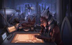 Star Wars Meme, Star Wars Fan Art, Star Wars Rebels, Star Wars Clone Wars, Star Wars Zeichnungen, Star Wars Drawings, Ahsoka Tano, Movies Showing, Far Away