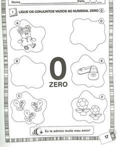 Arte de Educar: Atividades com os numerais até 9