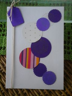 cartão scrapbook
