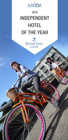 """River Inn at Seaside, Seaside, OR has been awarded """"Independent Hotel of the Year"""" from AAHOA. They were chosen among hundreds of nationwide nominees. Congrats to them for making waves from Seaside, Oregon!"""