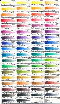 Derwent Inktense 72 Pencils by Mitoma.deviantart.com on @DeviantArt