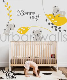 Not sure if it's definite, but Danielle sent me this as what they want to do for the baby's room.  Koalas.  SO CUTE!  :)