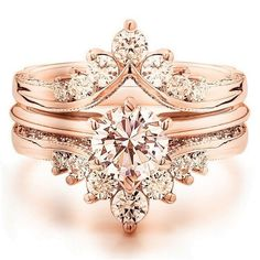 Diamond Wedding Rings Luxury rose gold engagement ring vintage for your perfect wedding - Luxury rose gold engagement ring vintage for your perfect wedding Wedding Rings Rose Gold, Wedding Rings Vintage, Vintage Engagement Rings, Vintage Rings, Wedding Jewelry, Gold Jewelry, Wedding Bands, Bridal Rings, Vintage Silver