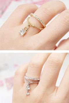 LOVE it rings-fashion ring-luxury rings-wedding rings-diamond rings vintage wedding ring. Cute Jewelry, Jewelry Rings, Jewelry Accessories, Fashion Accessories, Jewelry Design, Unique Jewelry, Gold Jewelry, Jewlery, Gold Necklace