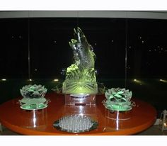excellent decoration for your business meeting Business Meeting, Salmon, Ice, Decoration, Decor, Decorations, Atlantic Salmon, Ice Cream, Decorating