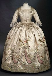Surviving gown of Marie Antoinette (ROM)