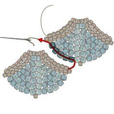 Take Flight Necklace - new season bijouterie Dainty Earrings, Tassel Earrings, Statement Earrings, Dangle Earrings, Collier Floral, Custom Jewelry, Handmade Jewelry, Beading Needles, Bohemian Rings