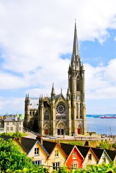 ST COLMAN CHURCH, COBH, CORK COUNTY, IRELAND.. South Ireland