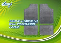 Si después del tiempo las alfombrillas del coche se te estropean, en las tiendas Aurgi puedes encontrar todo tipo de alfombrillas: de goma, de aluminio, antideslizantes... Más información en http://www.aurgi.com/