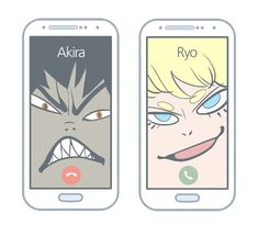Akira Fudo & Ryo Asuka