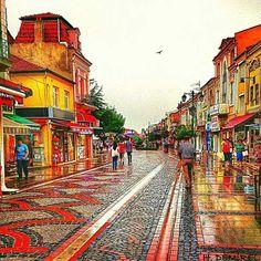 Adrianople streets Edirne TURKEY