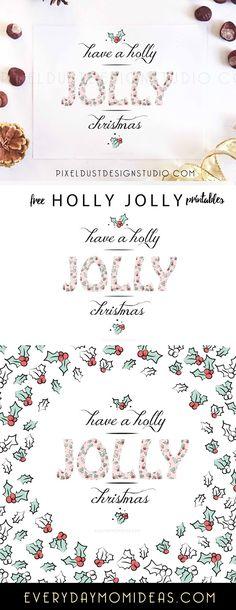 Free Holly Jolly Pri