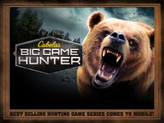 The bestselling hunting game series is now on your phone: Cabela's Big Game Hunter. Put your hunting skills to the test against dozens of animals in vast hunting grounds. Download for free right now. #CabelasWishList