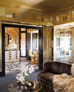 Bronze Metallic Interior Design Kelly Wearstler Inspiration