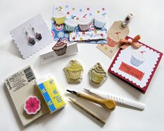 Carve Your Own Stamps with Anke Humpert #craftartedu