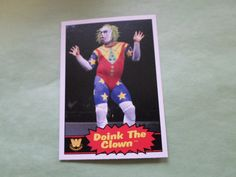 2012 topps wwe base doink the clown # 72