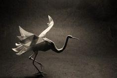 Origami Bird Crane Art Photo HD Wallpaper