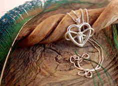 Goddess of Infinite Love  Sterling Silver by OdysseyCraftworks