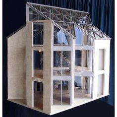 Mark Turpin's Architectural Models (doll houses to die for) | ThisNext
