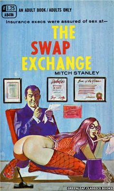 Exchange by Mitch Stanley, cover art by Unknown (1969)