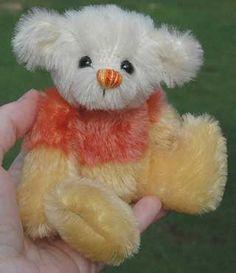 Candy Corn Teddy Bear Pattern - free!