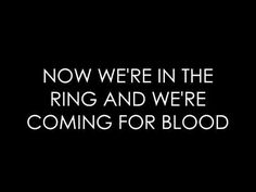 """""""Glory and Gore"""" by Lorde"""