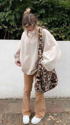 Indie Outfits, Adrette Outfits, Teen Fashion Outfits, Retro Outfits, Cute Casual Outfits, Look Fashion, Fasion, Vintage Outfits, Trendy Winter Outfits