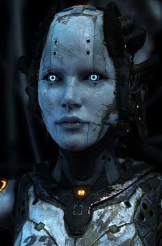#robot #scifi #cyborg: