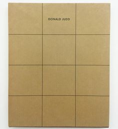 These covers. Wow. The very special 1993 first edition of the Donald Judd Furniture Retrospective. One of modern life's more valuable books. And invaluable references. Email if you want@ideanow.online #donaldjudd #furnitureretrospective #1993