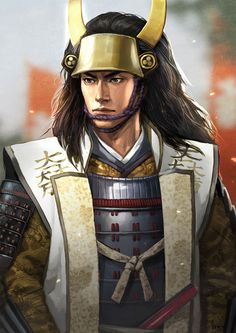 View an image titled 'Ishida Mitsunari Art' in our Nobunaga's Ambition: Sphere of Influence art gallery featuring official character designs, concept art, and promo pictures. Amaterasu, Game Character Design, Character Art, Ninja, Nobunaga's Ambition, Samurai Artwork, Japanese Warrior, Japanese Characters, Samurai Warrior