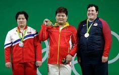 Podnoszenie ciężarów w kategorii kobiet powyżej 75 kg. Złoto zdobyła Meng Suping…
