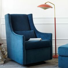 Graham Glider | west elm I want this to rock my new grand baby!