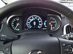 2014 Buick Lacrosse cluster