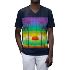 Warm summer days by the water, hanging out on lazy afternoons, or making a fashion statement, this versatile V-neck can do it all! Stay cool and stylish all night long with this Lightweight (4.3oz /146 GSM) tri-blend cotton T-shirt! With several colour options you can pick what is right for you. Summer Days, Men Fashion, Lazy, V Neck T Shirt, Colour, Cool Stuff, Night, Stylish, Water
