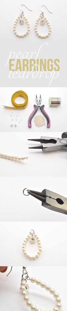 Making your own jewelry makes each piece so much more special! These pear teardrop earrings are stunning and perfect for the holidays! http://www.ehow.com/ehow-style/blog/diy-pearl-teardrop-earrings/?utm_source=pinterest.com&utm_medium=referral&utm_content=blog&utm_campaign=fanpage