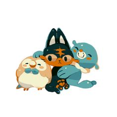 Sorry about disappearing for so long time. There's so many things happened these days: Ash leaves Kalos, I leave my school, Ash goes to Alola, Ash goes into school, then I go to Alola. By the way I choose Rowlet as my first partner and name her...