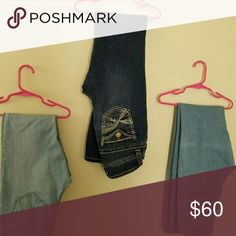 BUNDLE KIDS JEANS, Will ship Asap, no trade Will not sell to empty closet with no ratings No Boundaries Bottoms Jeans