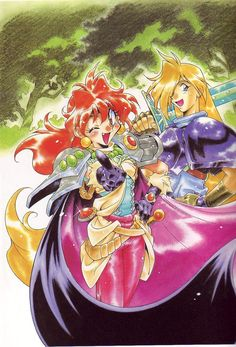 Lina Inverse and Gourry