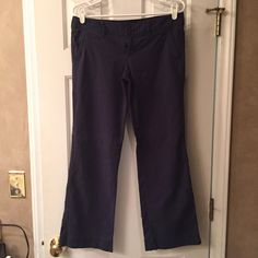 Selling this SALEAMERICAN EAGLE Navy Pants in my Poshmark closet! My username is: marinajolene. #shopmycloset #poshmark #fashion #shopping #style #forsale #American Eagle Outfitters #Pants